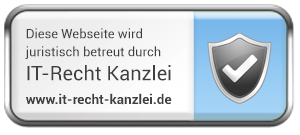 Legally supervised by ITRecht Kanzlei